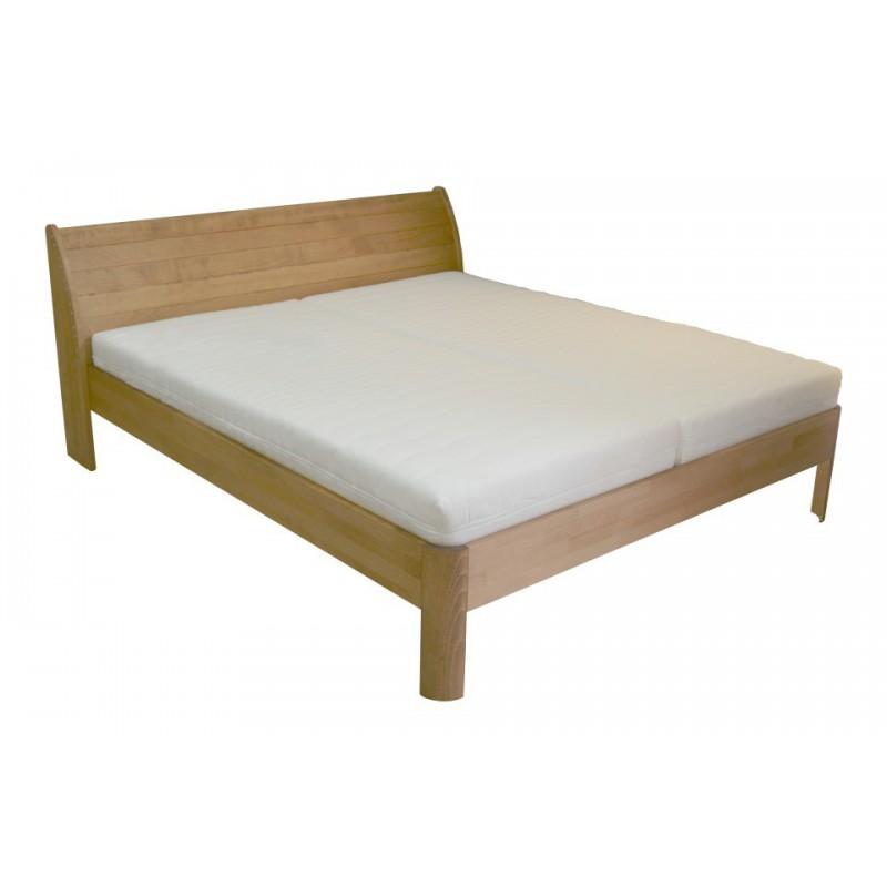 Masívna buková manželská posteľ 180x200cm / 180x220cm 2-2013-04