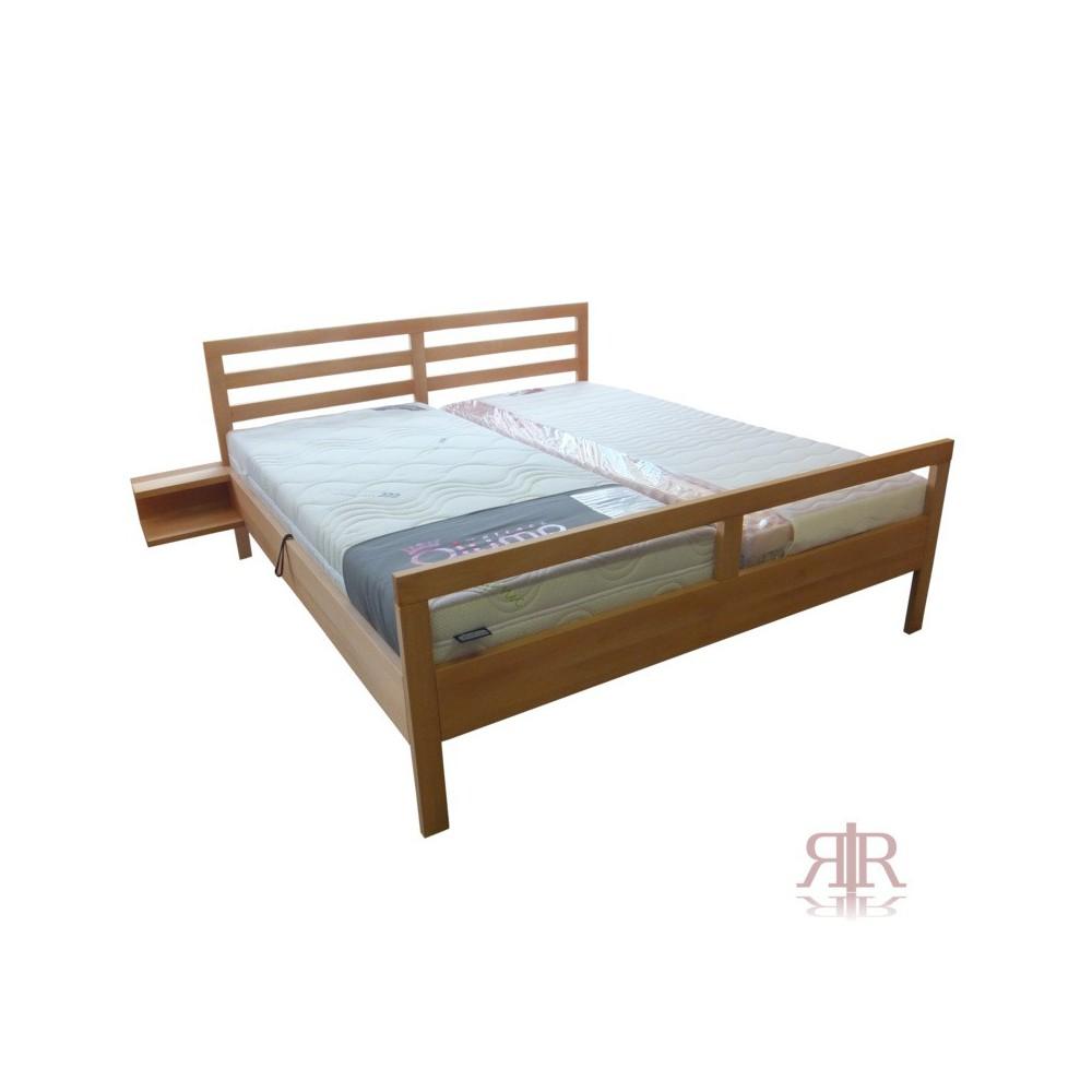 Masívna buková manželská posteľ 180x200cm 2-2016-01