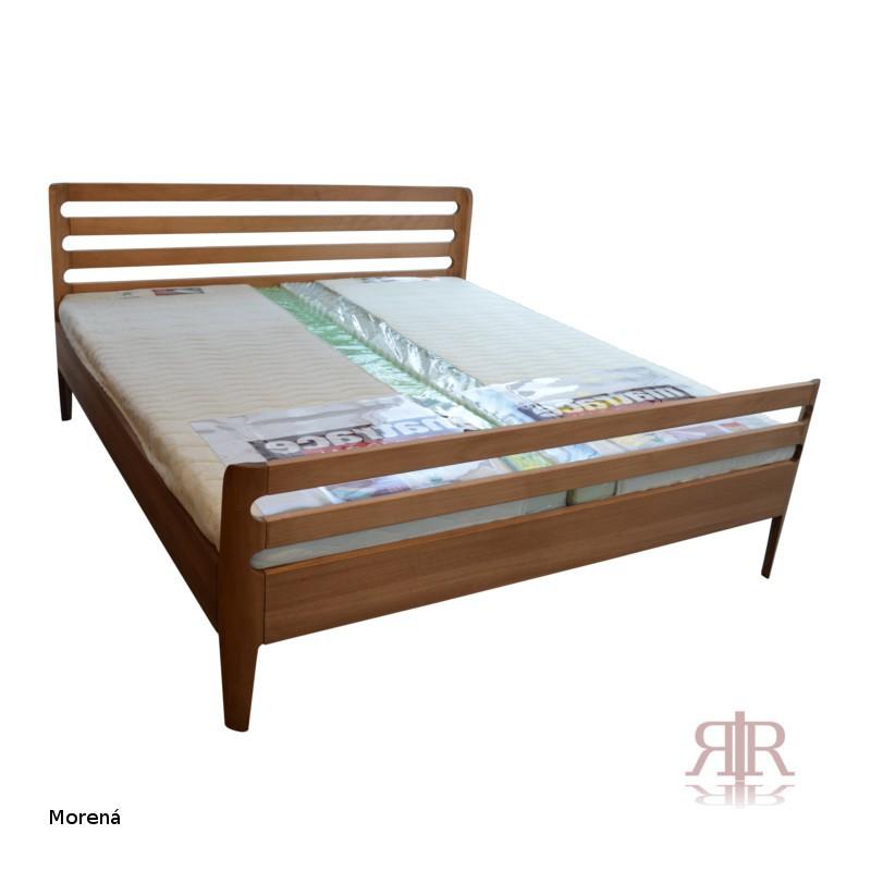 Masívna buková manželská posteľ 180x200cm 2-2016-03
