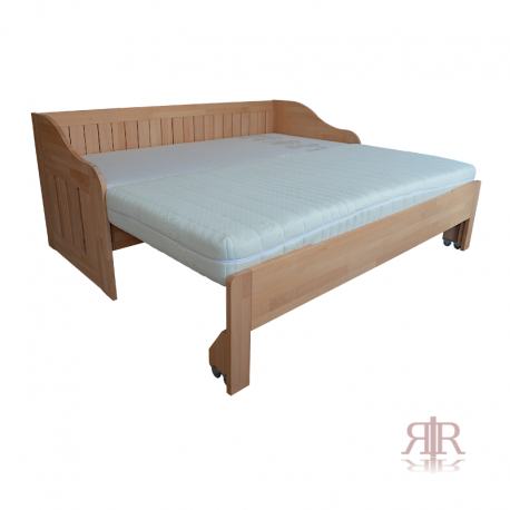 Masívna buková rozkladacia posteľ 2-2017-01