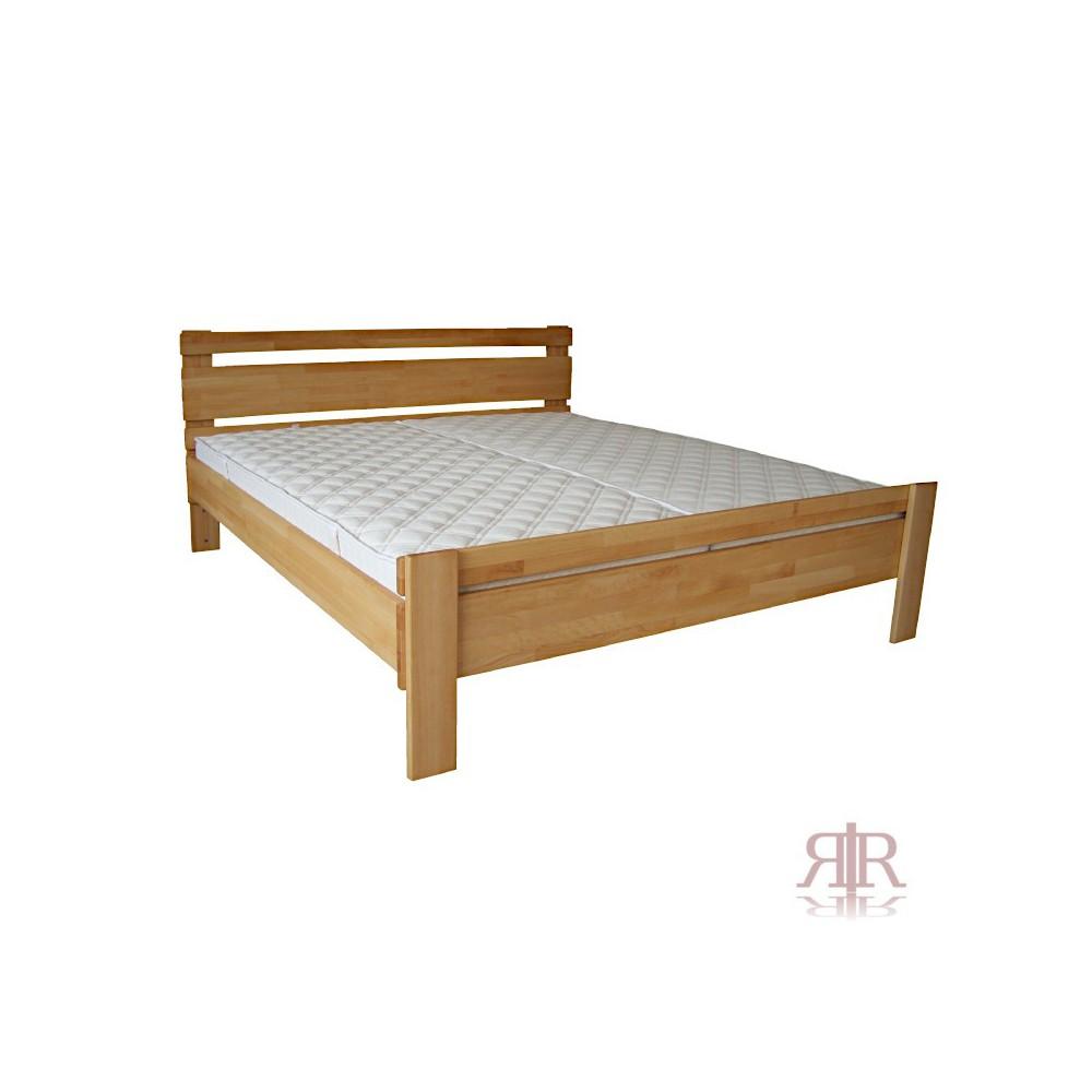 Masívna buková manželská posteľ 180x200cm / 180x220cm 2-2011-07