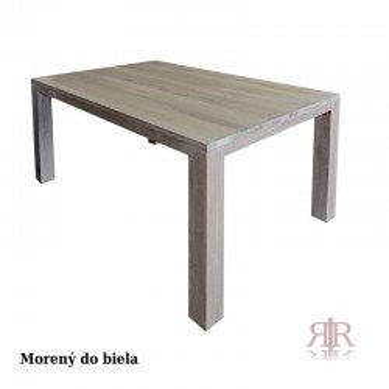 Masívny dubový stôl 1-2019-09 80x120cm