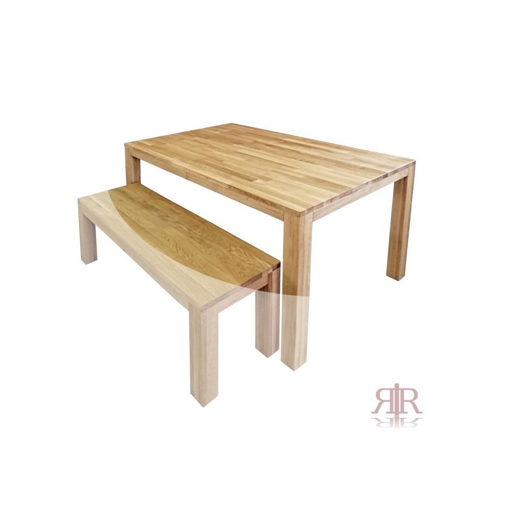 Masívny dubový stôl 1-2019-03 140x90cm